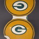 1973 73 Green Bay Packers Football Schedule Helmet Design Shaped Matchbook