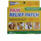 Coralite Pain Relief Patch Patches (Like Salonpas Brand) 20 (Twenty) pack New!