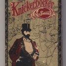 Knickerbocker Saloon Greenwich Village Dated Cover Colorful Matchbox Matchbook
