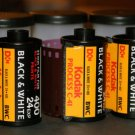 Lot of 3 Kodak Black & White 35mm Film C-41 BWC 24 exp 400 iso Unkwn Exp NEW