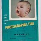 Vintage 1951 Your Guide To Photographic Fun - Cameras Projectors Flash Guide Mag