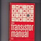 Vintage 1966 RCA Radio Corporation of America Transistor Manual SC-12 Components
