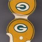 Vtg Green Bay Packers 1975 75 Game Schedule M&I Banks Helmet Matchbook Matches