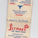 Vtg Rare Standard Gas Gasoline Jermoo's Car Truck Plazas Wisconsin Matchbook