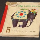 Vtg The Big Little Book - Golden Press Tiny Book Dorothy Hall Smith - Childrens