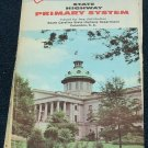 1969 69 South Carolina SC State Highway Primary System Road Transportation Map