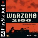 Warzone 2100  (Sony PlayStation 1, 1999) Strategy Military Weapons Guns Mature