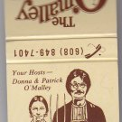 Retro The O'Malley Farm Cafe Waunakee American Gothic Design Unstruck Matchbook