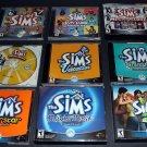 The Sims Complete Set Bundle Lot Expansions & Sims 2 - 12 Games 19 Discs HUGE