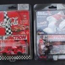 Lot of 2 Dale Earnhardt Jr. Coca-Cola Coke Limited Edition 1998 Monte Carlo Cars