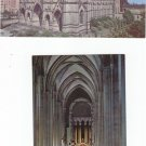 Vtg The Cathedral Church of St. John The Divine New York NY 1965 Set 2 Postcards