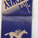 Vtg The Gateway All Sporting Events Trap Shooting Horse Race Skokie Matchbook