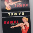 Vtg Kamel Cigarettes Cigarette Pin-Up Pin Up Pinup Girl Unstruck Matchbook Match