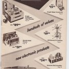 Vintage 1955 55 Allied Radio Special Bargain Catalog #148 Order Sheet & Envelope