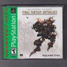 Final Fantasy Anthology  (Sony PlayStation 1, 1999) V & VI Collector's Package