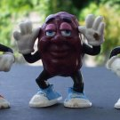 Vtg Retro 1987 87 Calrab California Raisins Set Molds Hardees