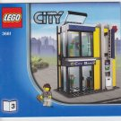 Lego City Bank & Transfer 3661 Instruction Blueprint Manual Booklet Book Only