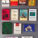 Tobacco Cigarette Unique Mixed Matchbox Matchboxes Matchbook Cover Vtg Lot #1
