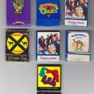 Camel Tobacco Cigarette Unique Mixed Matchbox Matchboxes Matchbook Cover Vtg Lot