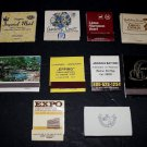 Vtg Foreign Overseas Unique Hotel Motel Resort Mixed Matchbook Matches Lot