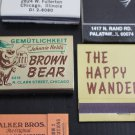 Lot 25 Chicago Chicagoland IL Chi-Town Cook County Matchbooks Matches Covers #2