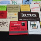 Lot 100 Chicago Chicagoland IL Chi-Town Cook County Matchbooks Matches Covers #5