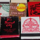 Lot 100 Chicago Chicagoland IL Chi-Town Cook County Matchbooks Matches Covers #6