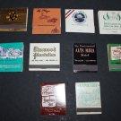 Vtg Hotel Motel Resort Golf Country Club Mixed Matchbook Matchbox Matches Lot