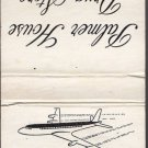 Vtg Chicago O'Hare Aiport O'Hare Field Palmer House Drug Stores Airplane Match