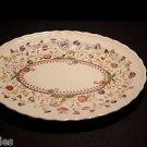 "Vernon Kilns Desert Bloom Oval Serving Dish Platter 12 1/4"" Metlox California"