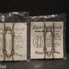 """Lot of 2 (Two) NIP Vtg Roberts Colonial 4 Point Butter Clip Hanger No. 65 2""""-4"""""""
