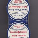 Vtg White Sox Park Baseball Soxette Soxettes Hutchinson Exploding Scoreboard VG+