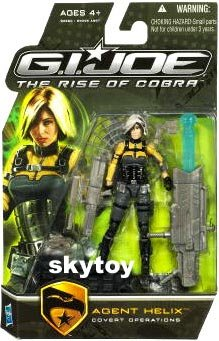 g.i. joe rise of cobra agent helix mosc