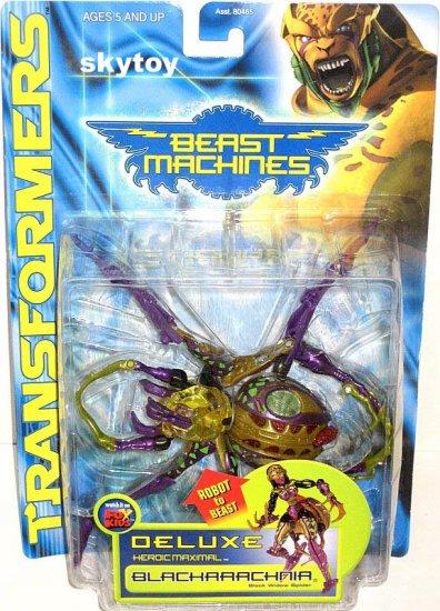 BLACKARACHNIA Transformers Beast Machines MOSC