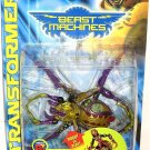 BLACKARACHNIA Transformers Beast Machines MOSC