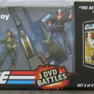 g.i. joe dvd battles 2 roadblock lady jaye destro MISB