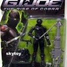 G.I. Joe: The Rise of Cobra Snake Eyes commando MOSC