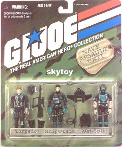 gijoe navy seal team 3-pack special edition mosc
