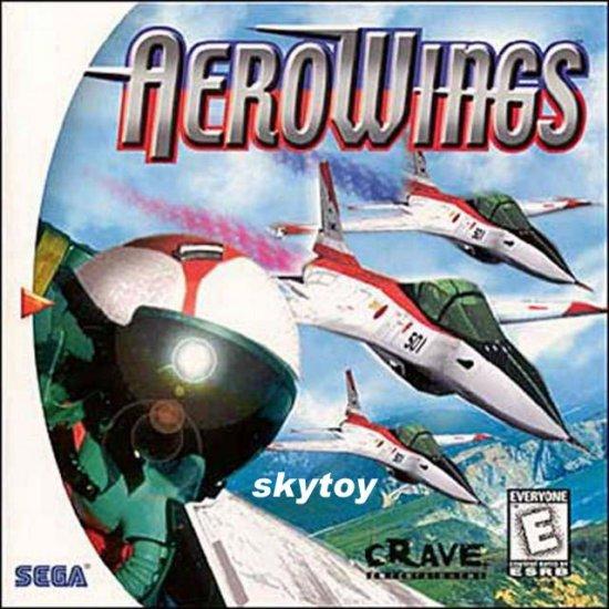 aerowings dreamcast game