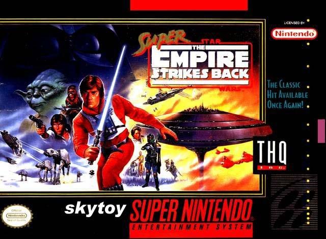 star wars empire strikes back snes game