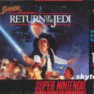 star wars return of the jedi snes game