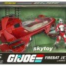g.i. joe cobra firebat with pilot misb
