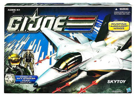 skystriker with ace g.i. joe jet misb