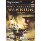 full spectrum warrior PlayStation 2 Game new