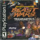 Transformers Beastwars Transmetals Playstation 1 game new