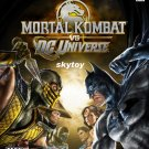 mortal kombat vs dc universe xbox 360 game new