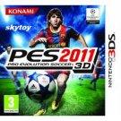 Pro Evolution Soccer 2011 Nintendo 3DS new