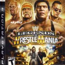 WWE Legends of WrestleMania: Playstation 3 new