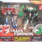 transformers ultimate battle pack optimus prime vs megatron misb