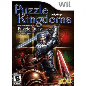 puzzle kingdoms wii game